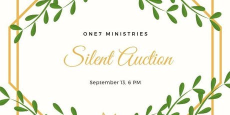 One7 Silent Auction tickets