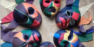 African Mask Making for Children