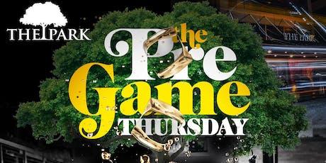 Park Thursday's! #CocktailswithCarrington + #ThePregameDC (@JustCarrington) tickets