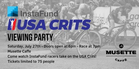 InstaFund La Prima USA Crits Viewing Party tickets