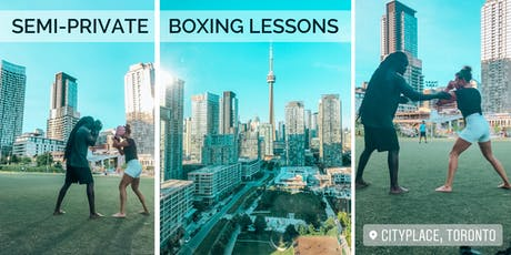 Outdoor Boxing Semi-Private Sessions - Tonebana Style tickets