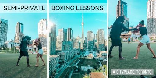 Outdoor Boxing Semi-Private Sessions - Tonebana Style