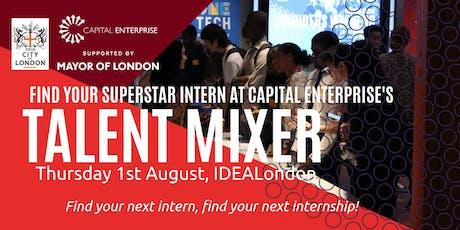 Capital Enterprise Talent Mixer tickets