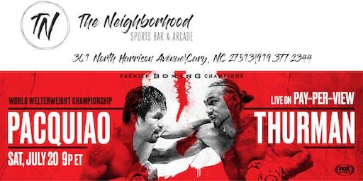 Boxing @The Neighborhood