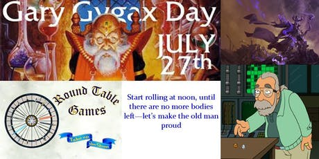 Gary Gygax Day 2019 at Round Table Games tickets