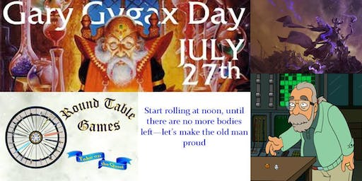 Gary Gygax Day 2019 at Round Table Games