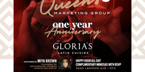 Networking Queens Marketing Grp.One year Annivers