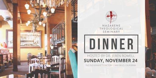 Nazarene & NTS Alumni AAR/SBL Dinner