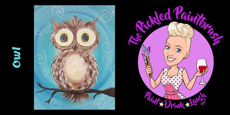 Painting Class - Owl - August 2, 2019* tickets
