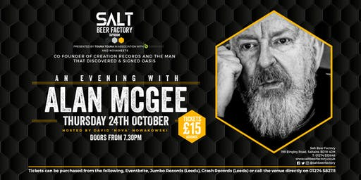 An Evening with Alan McGee