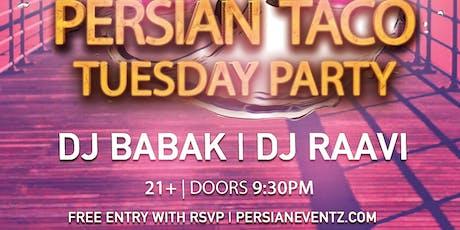 Persian Taco Tuesday Party in Huntington Beach tickets