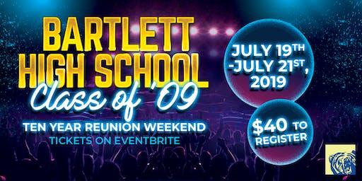 Bartlett C/o '09 Reunion Weekend