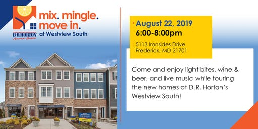 Mix. Mingle. Move-In. at Westview South