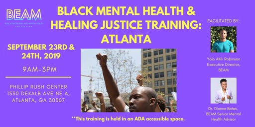 Black Mental Health & Healing Justice - Peer Support Training