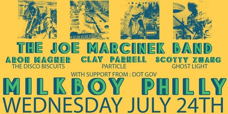 Joe Marcinek Band ft. Aron Magner, Clay Parnell, Scotty Zwang tickets