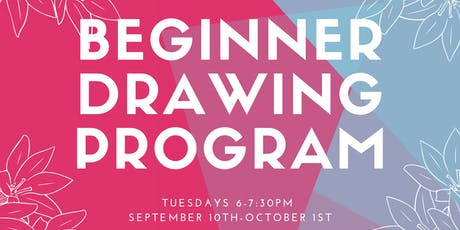 Youth Beginner Drawing Program  tickets