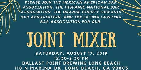 MABA, HNBA, OCHBA, and LLBA Joint Mixer  tickets