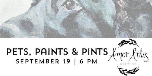Pets, Paints & Pints at Amor Artis