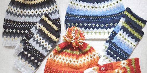 Knit Mitts: Beginning Knitting