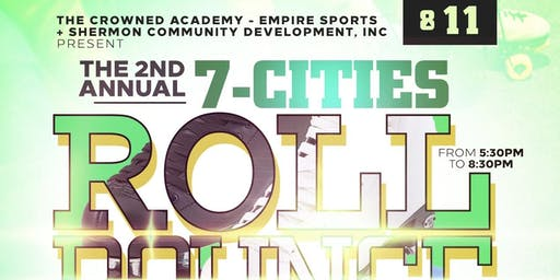 2nd Annual 7-Cities Roll Bounce: Back to School Edition