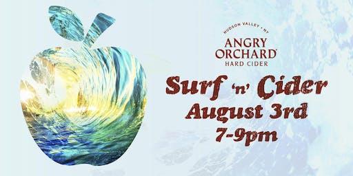 Surf n Cider Seafood Pairing