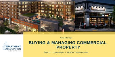 Buying & Managing Commercial Property