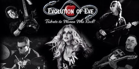 Evolution of Eve - Tribute to Women Who Rock at Cooks Chapel tickets