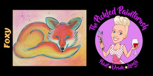 Painting Class - Foxy - August 9, 2019*