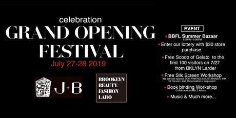 GRAND OPENING FESTIVAL tickets