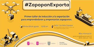 Taller #ZapopanExporta