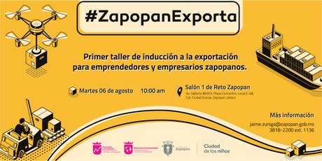 Taller #ZapopanExporta boletos