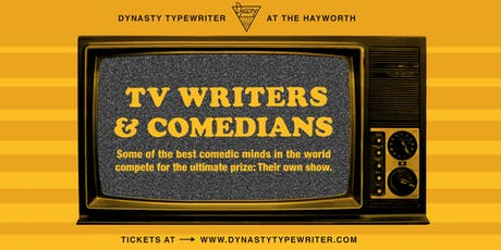 TV Writers and Comedians tickets