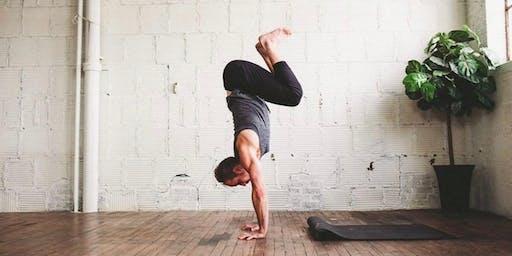 Yoga + Handstands + Bubbles