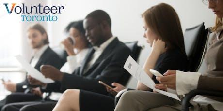 Volunteering as a Jobseeker (Bloor-Gladstone) tickets