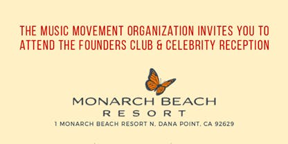 Music Movement Founders Club & Celebrity Reception