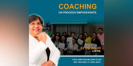 """Coaching """"Un Proceso Empoderante"""""""" tickets"""