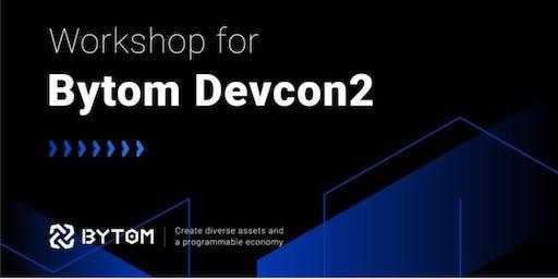 Bytom Blockchain Workshop 1