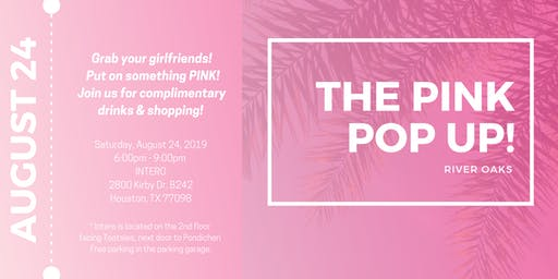 The Pink Pop Up!