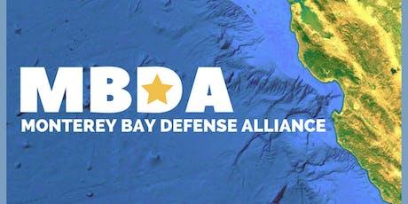 Monterey Bay Defense Alliance August 2019 Breakfast tickets