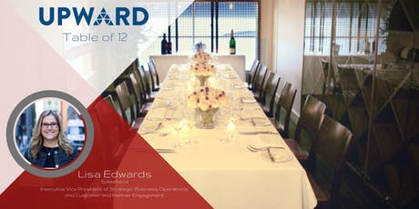 UPWARD Table of 12 with Lisa Edwards tickets