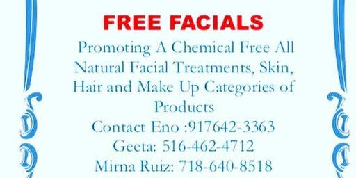 Free Facials RSVP TODAY Limited Appointments!