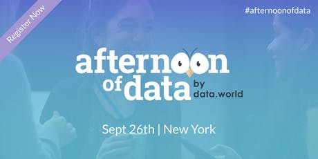 Afternoon of Data - New York tickets