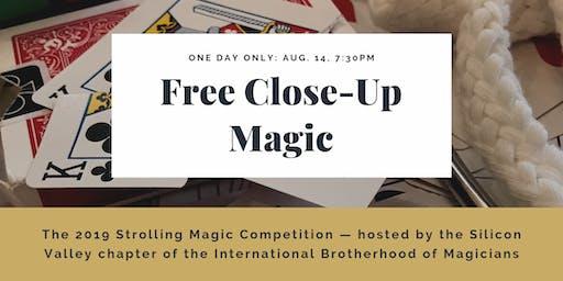 Free Close-Up Magic Show