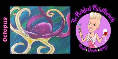 Painting Class - Octopus - ALL AGES - August 10, 2019 tickets