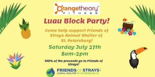 Orangetheory Fitness Palm Harbor Charity Luau Party!