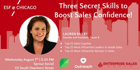 Three Secret Skills to Boost Sales Confidence tickets