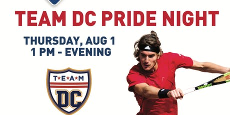 Team DC Pride Night OUT at the Citi Open tickets