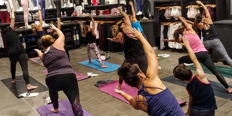 Free Yoga Class with Katie Write tickets
