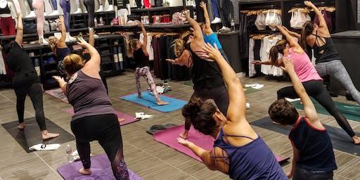 Free Yoga Class with Katie Write