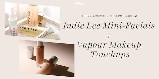 Indie Lee Mini-Facials and Vapor Makeup Touch-Ups @ Follain Bethesda Row